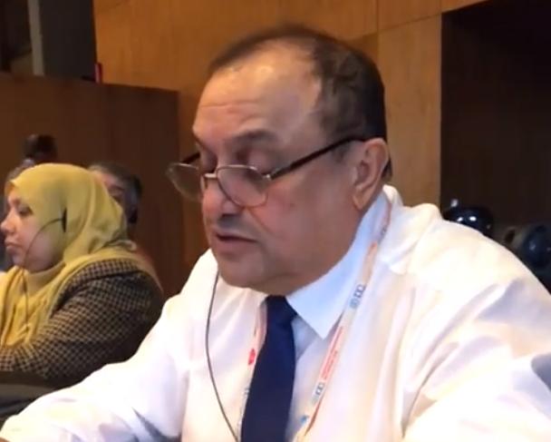 El Presidente del SITRAMIS en la Reunión del Centenario de la Conferencia internacional del Trabajo