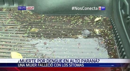 Mujer fallece con síntomas de dengue en Alto Paraná